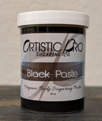Black Organic Sugaring Paste