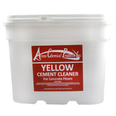 YELLOW CEMENT CLEANER