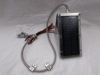 6-Volt Solar Panel With Bracket & Stainless Cable Sheath