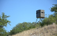 6 x 6 Insulated Blind Ground Blind