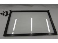 Clear flip up 24 inch window