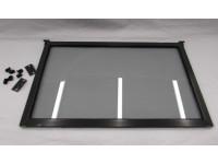 Gray tinted flip up 36 inch window