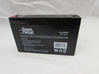 6 volt 7amp/hour rechargable battery