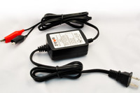 "Zeus 12-volt .3ah Battery Charger (""Float Charger"")"