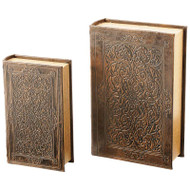 Wholesale lot of (6) 2pc Faux Book Safe Set