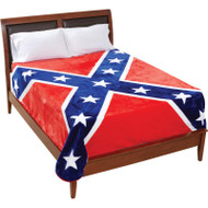 Wholesale lot of (10) Be A Rebel Rebel Flag Blanket