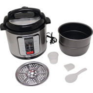 Wholesale lot of (2) Precise Heat 6.3Qt. Electric Pressure Cooker