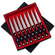 "Wholesale lot of (24) Slitzer 8pc 8-7/8"" Steak Knife Set"