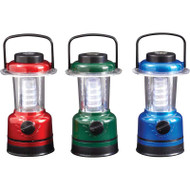 Wholesale lot of (4) Mitaki-Japan 9pc 12-LED Lanterns in Countertop Display