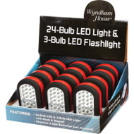 Wholesale lot of (6) Wyndham House 12pc LED Lights in Countertop Display