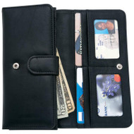 Wholesale lot of (50) Embassy Ladies' Solid Genuine Leather Wallet