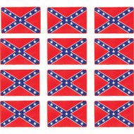 Wholesale lot of (50) Be A Rebel 12pc Rebel Flag Patches