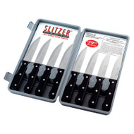Wholesale lot of (12) Slitzer 8pc Professional German-Style Jumbo Steak Knives