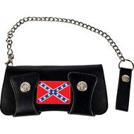 Be a Rebel Double Snap Trucker Wallet