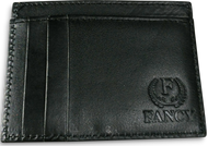 Genuine Leather Wallet Fancy, 6 card holder