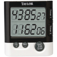 Taylor Dual Event Digital Timer And Clock