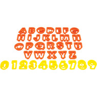 Starfrit The Cookie Cutters (numbers & Letters)