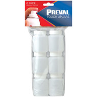 Preval 2.94-ounce Touch-up Jars 6 Pk