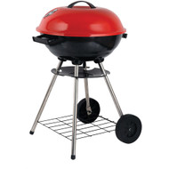 "Brentwood Appliances 17"" Portable Charcoal Bbq Grill With Wheels"