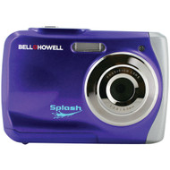 Bell+howell 12.0-megapixel Wp7 Splash Waterproof Digital Camera (purple)