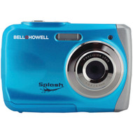 Bell+howell 12.0-megapixel Wp7 Splash Waterproof Digital Camera (blue)