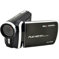Bell+howell 20.0-megapixel 1080p Dv30hd Fun Flix Slim Camcorder (black)