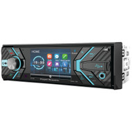 """Power Acoustik 3.4"""" Incite Single-din In-dash Detachable Lcd Touchscreen Dvd Receiver With Bluetooth"""