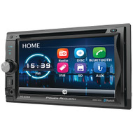"""Power Acoustik 6.2"""" Incite Double-din In-dash Detachable Lcd Touchscreen Dvd Receiver With Bluetooth"""