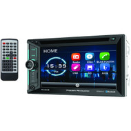 "Power Acoustik 6.2"" Incite Double-din In-dash Dvd Receiver With Bluetooth"