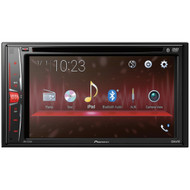 "Pioneer 6.2"" Double-din In-dash Dvd Receiver With Bluetooth"