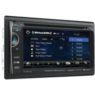 """Power Acoustik 6.2"""" Double-din In-dash Dvd And Siriusxm Radio Bundle With 3 Months Free Service"""