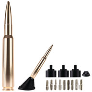 "Ammo Tenna 5.5"" Billet Aluminum .50 Cal Replica Antenna Mast (gold And Bright Copper)"