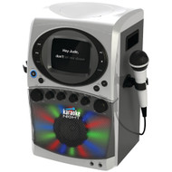 "Karaoke Night Cd+g Karaoke System With Led Light Show & 5.5"" Monitor"