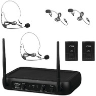 Pyle Pro Vhf Fixed-frequency Wireless Microphone System