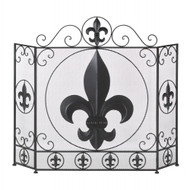 Fleur-de-lis Fireplace Screen
