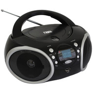 Naxa Portable Mp3 And Cd Player With Am And Fm Analog Radio & Usb Input