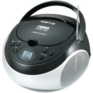 Naxa Portable Cd And Mp3 Players With Am And Fm Stereo (black)