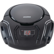 Sylvania Portable Cd Players With Am And Fm Radio (black)