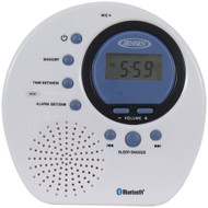 Jensen Water-resistant Digital Am And Fm Bluetooth Shower Clock Radio
