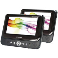 "Sylvania 9"" Dual-screen Portable Dvd Player"