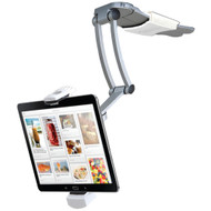"Cta Digital Ipad Air And Ipad Mini And Surface Pro 4 & 7""-12"" Tablets 2-in-1 Kitchen Mount Stand"