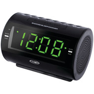 Jensen Am And Fm Dual-alarm Clock Radio