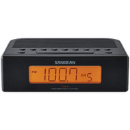 Sangean Am And Fm Digital Tuning Clock Radio