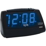 Sxe Alarm Clock With Usb Charging Port