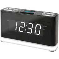 Ilive Platinum Bluetooth Voice-activated Clock With Amazon Alexa Compatibility