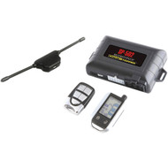 Crimestopper Universal Deluxe 2-way Lcd Security & Remote-start Combo