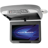"""Power Acoustik 10.2"""" Ceiling-mount Swivel Dvd Entertainment System With Ir & Fm Transmitters & 3 Interchangeable Skins"""
