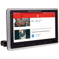 """Power Acoustik 10.3"""" Universal Headrest Monitor With Dvd Player Ir & Fm Transmitters & Android Phonelink"""