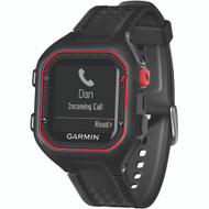 Garmin Refurbished Forerunner 25 Gps Running Watch (large; Black And Red)