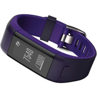 Garmin Vivosmart Hr+ Activity Tracker (regular Fit; Imperial Purple And Kona Purple)